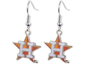 "Houston Astros ""H"" Logo Earrings"