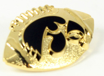 Iowa Hawkeyes Football Pin
