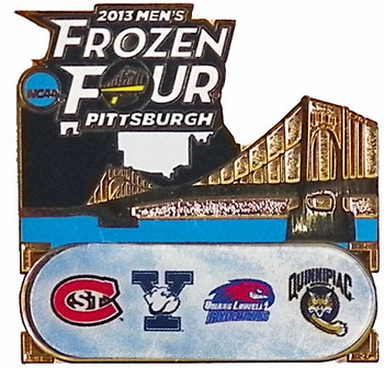 2013 Men's Frozen Four Teams Pin