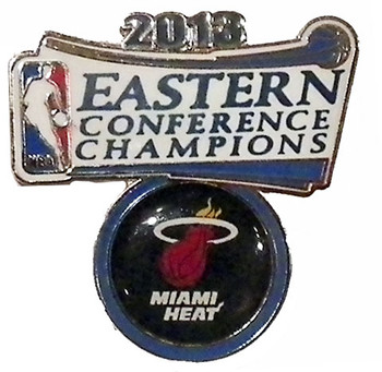 Miami Heat 2013 Eastern Conference Champs Pin