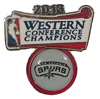 San Antonio Spurs 2013 Western Conference Champs Pin