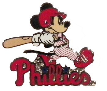Philadelphia Phillies Mickey Slugger Pin
