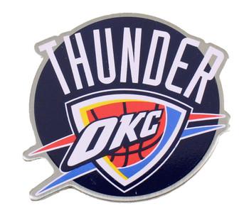 Oklahoma Thunder Round Logo Pin