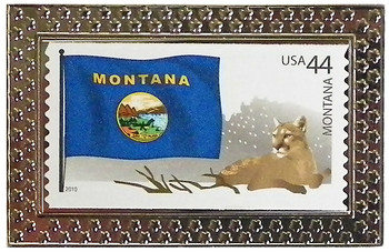 State of Montana Stamp Pin