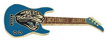 Jacksonville Jaguars Guitar Pin