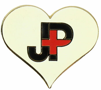 Japan Relief Heart Pin