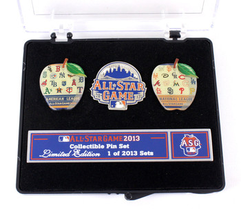 2013 MLB All Star Game 3 Pin Set - Limited 2,013