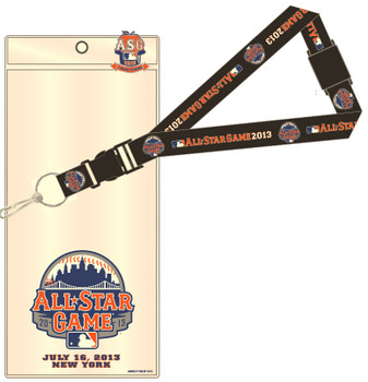 "2013 MLB All-Star Game Lanyard w/ Ticket & ""I Was There"" Pin"