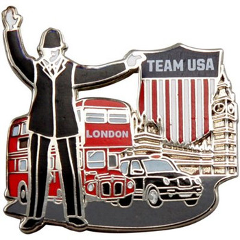 London 2012 Crest City Traffic Olympic Pins