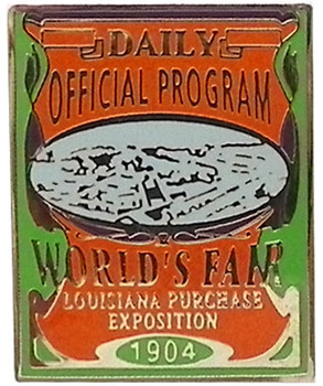 Louisiana Purchase Exposition 1904 World's Fair Commemorative Pin