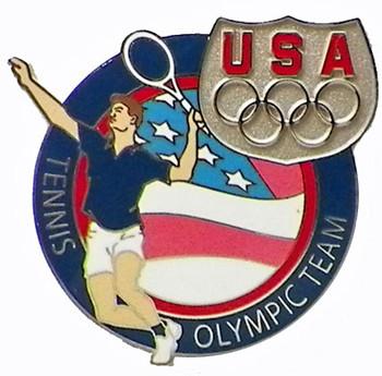 USA Tennis Olympic Team Pin