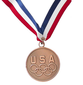 USA Five Rings Bronze Medal Medallion