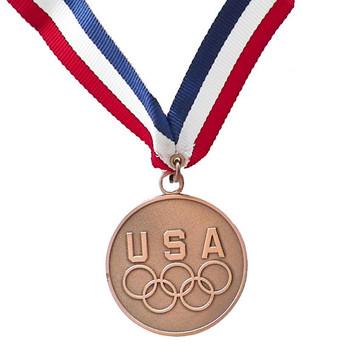 USA Five Rings Bronze Medal Medallion