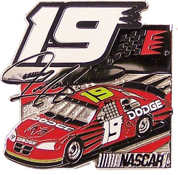 Jeremy Mayfield #19 Car Pin