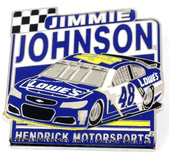 Jimmie Johnson #48 Car Pin