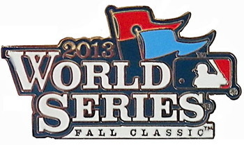 2013 World Series Logo Pin