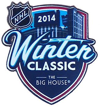 2014 NHL Winter Classic Logo Pin