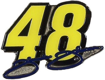 Jimmie Johnson Signature #48 Pin