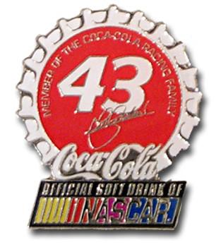 John Andretti #43 Cap Pin