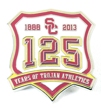 USC Trojans 125 Years of Trojans Athletics Pin