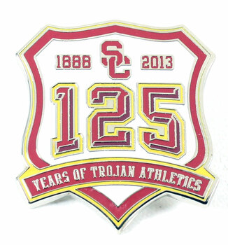 USC Trojans 125 Years of Trojans Athletics Pin