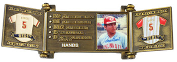 Johnny Bench Hall of Fame Career Pin - Limited 1,989