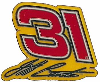 Jeff Burton #31 Pin