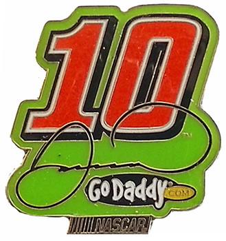 Danica Patrick #10 Go Daddy Pin