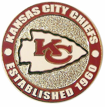 Kansas City Chiefs Circle Pin - est. 1960