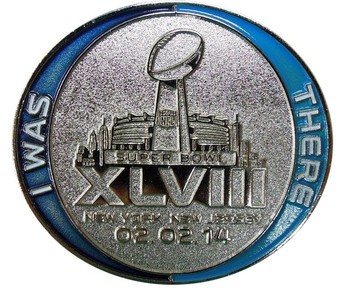 Super Bowl XLVIII (48) Lanyard w/ Ticket Holder & I Was There Pin