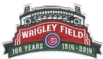 "Chicago Cubs ""Wrigley Field 100 Years"" Anniversary Patch"