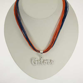"Florida Logo Multi-Cord 18"" Necklace"