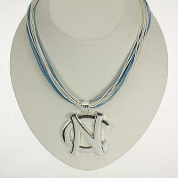 "North Carolina Logo Multi-Cord 18"" Necklace"