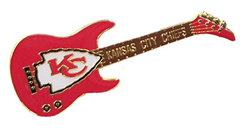 Kansas City Chiefs Guitar Pin