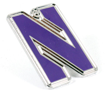Northwestern Logo Pin