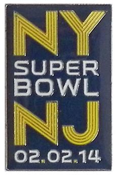Super Bowl XLVIII (48) NY / NJ Pin