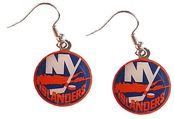 New York Islander Earrings