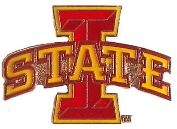 Iowa State Logo Pin