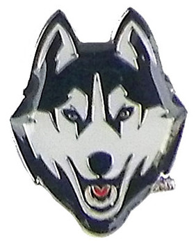 University of Connecticut Logo Pin