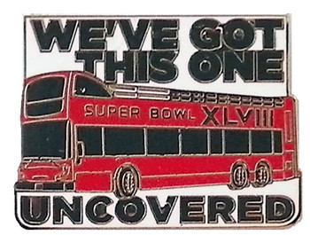 Super Bowl XLVIII Double Bus Pin