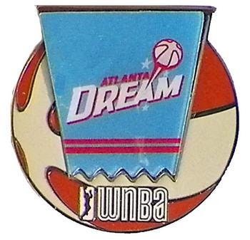 Atlanta Dream WNBA Ball Logo Pin