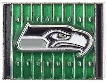 Seattle Seahawks Yardage Pin