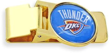 Oklahoma Thunder Money Clip