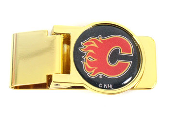 Calgary Flames Money Clip