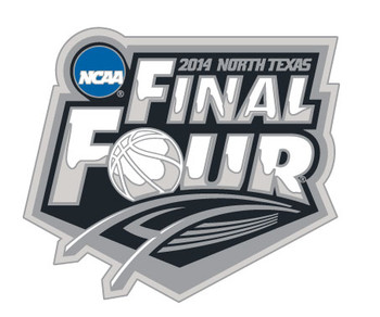 2014 Final Four Logo Pin