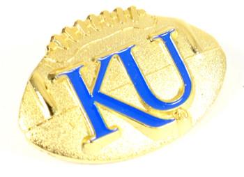 Kansas Football Pin