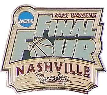 2014 Women's Final Four Logo Pin