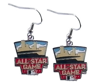 2014 MLB All-Star Game Logo Earrings