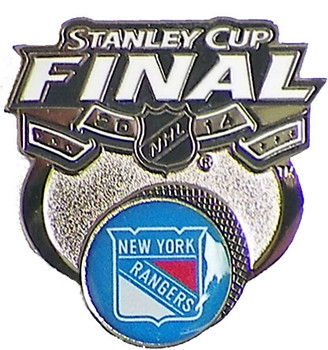 New York Rangers 2014 Stanley Cup Finals Pin