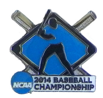 2014 NCAA College World Series Pin